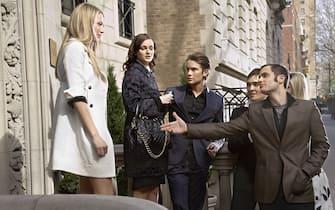 """Una scena della serie """"Gossip Girl"""""""