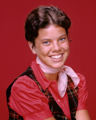 UNITED STATES - JULY 10:  HAPPY DAYS - Season Two - July 10, 1975 Erin Moran as Joanie Cunningham on Happy Days  (Photo by Walt Disney Television via Getty Images Photo Archives/Walt Disney Television via Getty Images)