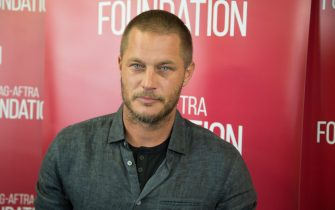 """LOS ANGELES, CA - MAY 11:  Actor Travis Fimmel attends SAG-AFTRA Foundation's Conversations with """"Vikings"""" at SAG-AFTRA Foundation Screening Room on May 11, 2017 in Los Angeles, California.  (Photo by Vincent Sandoval/Getty Images)"""