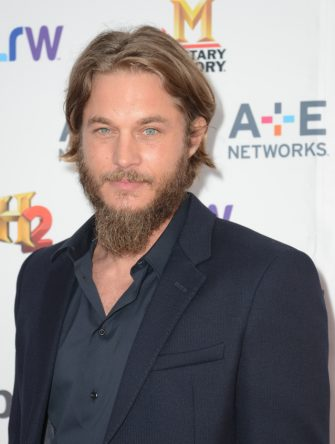 NEW YORK, NY - MAY 08:  Actor Travis Fimmel attends A+E Networks 2013 Upfront at Lincoln Center on May 8, 2013 in New York City.  (Photo by Mike Pont/FilmMagic)