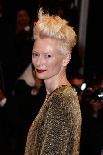 CANNES, FRANCE - MAY 25:  Actress Tilda Swinton attends the 'Only Lovers Left Alive' premiere during The 66th Annual Cannes Film Festival at the Palais des Festivals on May 25, 2013 in Cannes, France.  (Photo by Pascal Le Segretain/Getty Images)