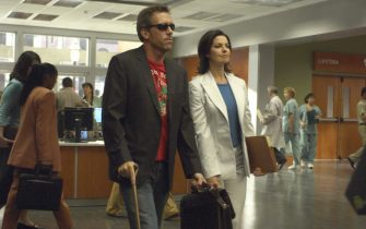 HOUSE:  House (Hugh Laurie, L) and Stacy (Sela Ward, R) discuss the legalities of treating a death row inmate (guest start LL Cool J) in the season premiere episode of HOUSE airing Tuesday, September 13 (9:00-10:00 PM ET/PT) on FOX. ª©2005 FOX BROADCASTING COMPANY. Cr: Jamie Trueblood/FOX.Ê