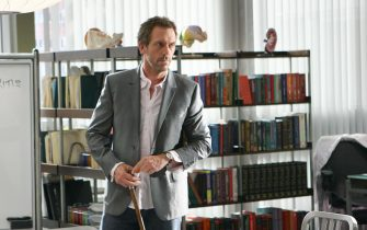 """HOUSE:  House (Hugh Laurie) is the subject of an internal investigation for a mistake, which though small, eventually led to a patientÕs death in the HOUSE episode """"The Mistake"""" airing Tuesday, Nov. 29 (9:00-10:00 PM ET/PT) on FOX.  ª©2005 Fox Broadcasting Co.  Cr:  Michael Becker/FOX."""