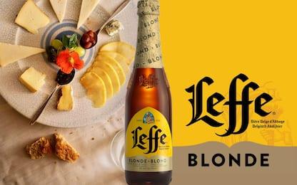 Selezione di Formaggi Altoatesini con mostarde e Leffe Blonde