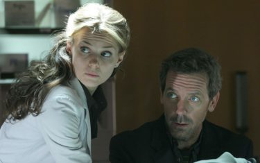 """HOUSE:   House (Hugh Laurie, R) and Cameron (Jennifer Morrison, L) treat a woman who repeatedly visits the hospital with a factitious illness in the HOUSE episode """"Deception"""" airing Tuesday, Dec. 13 (9:00-10:00 PM ET/PT) on FOX.  ª©2005 Fox Broadcasting Co.Cr:  Dean Headner/FOX."""