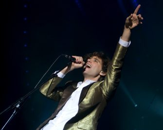 BERLIN - NOVEMBER 05: British singer Mika performs live during a concert at the Columbiahalle November 05, 2007 in Berlin, Germany. The concert promotes his album 'Life In Cartoon Motion'. (Photo by Christian Jakubaszek/Getty Images)