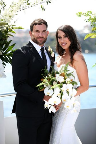 NIGEL WRIGHT PHOTOGRAPHER. +61(0) 409 363 339.  2018  MAFS 6  THIS EXCLUSIVE PICTURE SHOWS: DAN AND TAMARA WEDDING