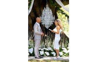 PHOTOGRAPH BY NIGEL WRIGHT.  2018  MAFS S6  THIS PICTURE SHOWS...COMMITMENT CEREMONY...HEIDI AND MICHAEL