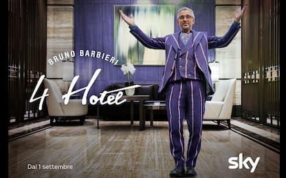 Bruno Barbieri 4 Hotel, lo speciale sulla nuova stagione è su Sky Uno