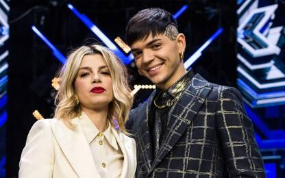 """Emma Marrone e Blind cantano """"La fine"""" alla finale di X Factor 2020"""
