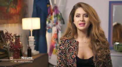 I corteggiatori di Noura nella quinta puntata di Cinque ragazzi per me