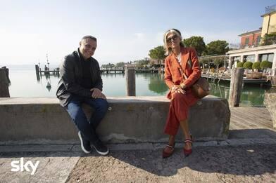 Un sogno in affitto 2: Paola Marella sul Lago di Garda. FOTO