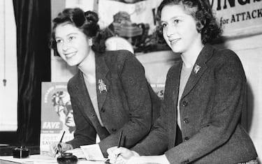 Princess Elizabeth and Margaret 1943