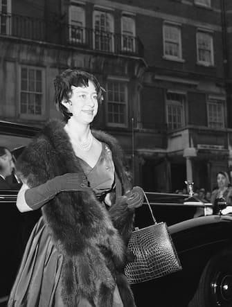 Great Britain London Princess Margaret at Claridge's Hotel