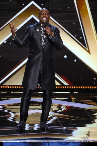 AMERICA'S GOT TALENT: THE CHAMPIONS -- VTR 2 -- Pictured: Terry Crews -- (Photo by: Trae Patton/NBC)