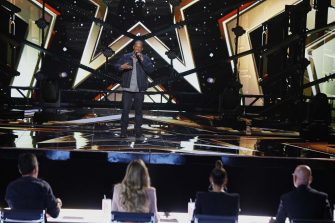 AMERICA'S GOT TALENT: THE CHAMPIONS -- VTR 2 -- Pictured: Mike Yung -- (Photo by: Trae Patton/NBC)