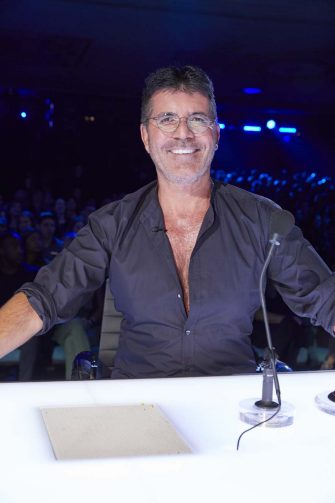 """AMERICA'S GOT TALENT: THE CHAMPIONS -- """"The Champions One"""" Episode 202 -- Pictured: Simon Cowell -- (Photo by: Trae Patton/NBC)"""
