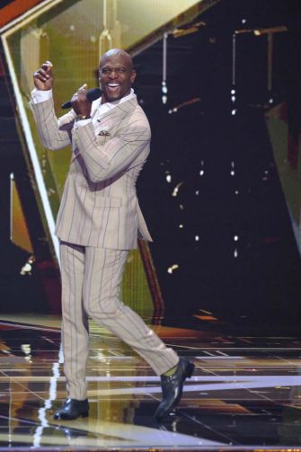 """AMERICA'S GOT TALENT: THE CHAMPIONS -- """"The Champions Two"""" Episode 201 -- Pictured: Terry Crews -- (Photo by: Trae Patton/NBC)"""