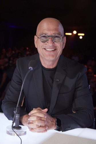"""AMERICA'S GOT TALENT: THE CHAMPIONS -- """"The Champions Two"""" Episode 201 -- Pictured: Howie Mandel -- (Photo by: Trae Patton/NBC)"""
