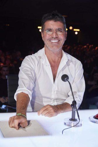 """AMERICA'S GOT TALENT: THE CHAMPIONS -- """"The Champions Two"""" Episode 201 -- Pictured: Simon Cowell -- (Photo by: Trae Patton/NBC)"""
