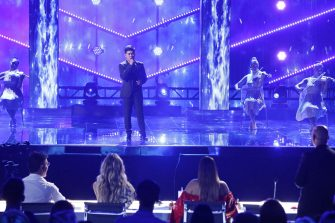 """AMERICA'S GOT TALENT: THE CHAMPIONS -- """"The Champions Two"""" Episode 201 -- Pictured: Marcelito Pomoy -- (Photo by: Trae Patton/NBC)"""