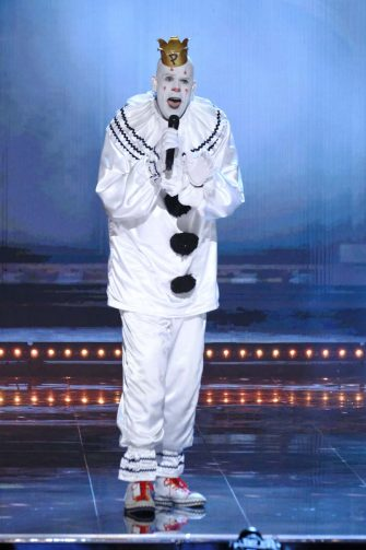"""AMERICA'S GOT TALENT: THE CHAMPIONS -- """"The Champions Two"""" Episode 201 -- Pictured: Puddles Pity Party -- (Photo by: Trae Patton/NBC)"""