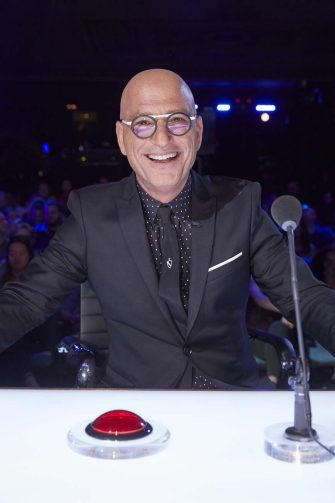 """AMERICA'S GOT TALENT: THE CHAMPIONS -- """"The Champions Three"""" Episode 203 -- Pictured: Howie Mandel -- (Photo by: Trae Patton/NBC)"""