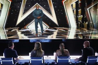 """AMERICA'S GOT TALENT: THE CHAMPIONS -- """"The Champions Four"""" Episode 204 -- Pictured: Terry Crews -- (Photo by: Trae Patton/NBC)"""