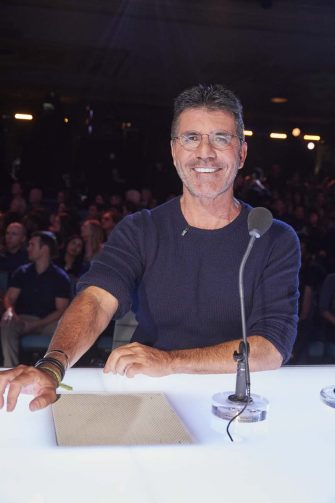 """AMERICA'S GOT TALENT: THE CHAMPIONS -- """"The Champions Four"""" Episode 204 -- Pictured: Simon Cowell -- (Photo by: Trae Patton/NBC)"""