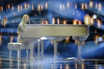 """AMERICA'S GOT TALENT: THE CHAMPIONS -- """"The Champions Four"""" Episode 204 -- Pictured: Connie Talbot -- (Photo by: Trae Patton/NBC)"""