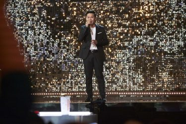 """AMERICA'S GOT TALENT: THE CHAMPIONS -- """"The Champions Semi Finals"""" Episode 205 -- Pictured: Marcelito Pomoy -- (Photo by: Tina Thorpe/NBC)"""
