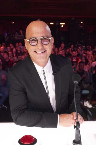 """AMERICA'S GOT TALENT: THE CHAMPIONS -- """"The Champions Semi Finals"""" Episode 205 -- Pictured: Howie Mandel -- (Photo by: Tina Thorpe/NBC)"""