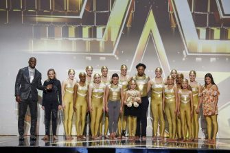 """AMERICA'S GOT TALENT: THE CHAMPIONS -- """"The Champions Finals"""" Episode 206 -- Pictured: (l-r) Terry Crews, Silhouettes -- (Photo by: Trae Patton/NBC)"""