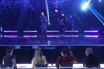 """AMERICA'S GOT TALENT: THE CHAMPIONS -- """"The Champions Finals"""" Episode 206 -- Pictured: Marcelito Pomoy -- (Photo by: Trae Patton/NBC)"""