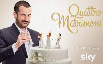 Quattro matrimoni è su Sky, conduce Costantino della Gherardesca