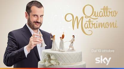 Quattro Matrimoni al via con Costantino Della Gherardesca. Il video