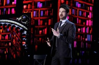 """AMERICA'S GOT TALENT: THE CHAMPIONS -- """"The Champions Finale Results"""" Episode 207 -- Pictured: Colin Cloud -- (Photo by: Trae Patton/NBC)"""