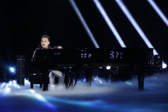 """AMERICA'S GOT TALENT: THE CHAMPIONS -- """"The Champions Finale Results"""" Episode 207 -- Pictured: Kodi Lee -- (Photo by: Trae Patton/NBC)"""