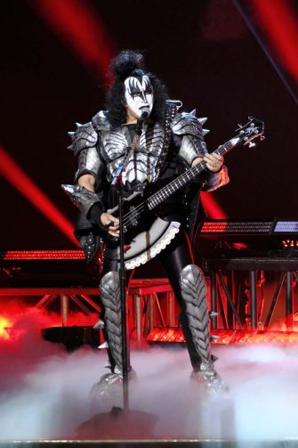 """AMERICA'S GOT TALENT: THE CHAMPIONS -- """"The Champions Finale Results"""" Episode 207 -- Pictured: Gene Simmons of KISS -- (Photo by: Trae Patton/NBC)"""