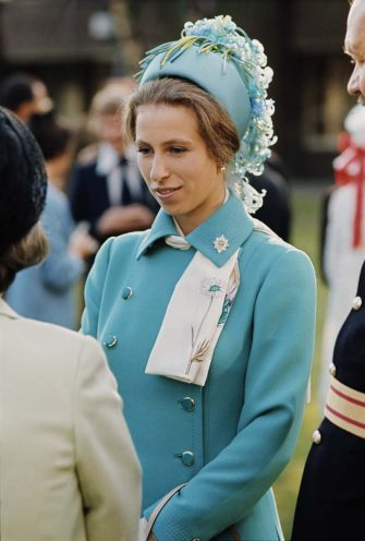Princess Anne, the Princess Royal, in Berlin for the Queen's Birthday Parade,  June 1973. (Photo by Serge Lemoine/Getty Images)