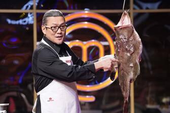 "MASTERCHEF: Chef Morimoto in the ""Legends: Chef Morimoto"" episode airing Wednesday, June 23 (8:00-9:00 PM ET/PT) on FOX. © 2019 FOX MEDIA LLC. CR: FOX."