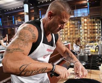 "MASTERCHEF: Contestant Michael in the ""Legends: Chef Morimoto"" episode airing Wednesday, June 23 (8:00-9:00 PM ET/PT) on FOX. © 2019 FOX MEDIA LLC. CR: FOX."