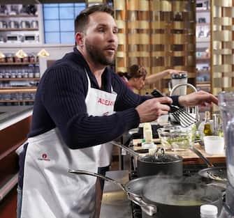 "MASTERCHEF: Contestant Alejandro in the ""Legends: Chef Morimoto"" episode airing Wednesday, June 23 (8:00-9:00 PM ET/PT) on FOX. © 2019 FOX MEDIA LLC. CR: FOX."