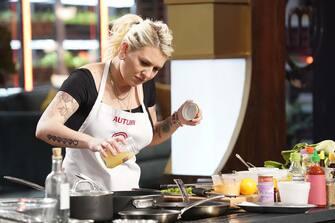 "MASTERCHEF: Contestant Autumn in the ""Legends: Chef Morimoto"" episode airing Wednesday, June 23 (8:00-9:00 PM ET/PT) on FOX. © 2019 FOX MEDIA LLC. CR: FOX."
