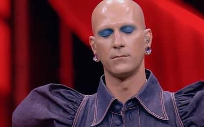 Erio a X Factor 2021 canta Amore Vero e commuove Agnelli. VIDEO