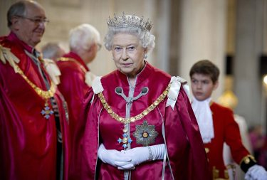 LONDON, UNITED KINGDOM - MARCH 07:  Queen Elizabeth II attends a service for the Order of the British Empire at St Paul's Cathedral on March 7, 2012 in London, England. (Photo by Geoff Pugh - WPA Pool /Getty Images)