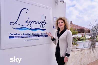 4 Ristoranti a Bari, l'intervista a Tina, vincitrice della puntata