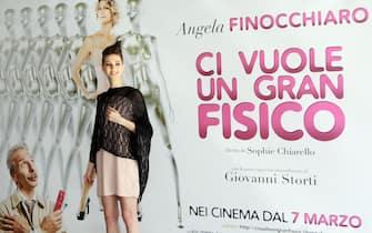 La cantante Antonella Lo Coco durante la presentazione del film 'Ci vuole un Gran Fisico', Roma, 4 marzo 2013. ANSA/FABIO CAMPANA
