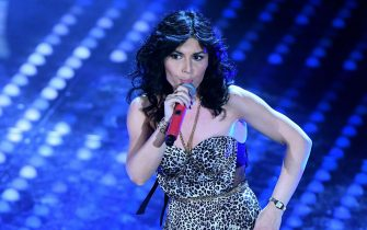 Italian singer Giusy Ferreri performs on stage during the 67th Festival of the Italian Song of San Remo at the Ariston theater, in Sanremo, Italy, 10 February 2017. The 67th edition of the television song contest runs from 07 to 11 February. ANSA/ETTORE FERRARI