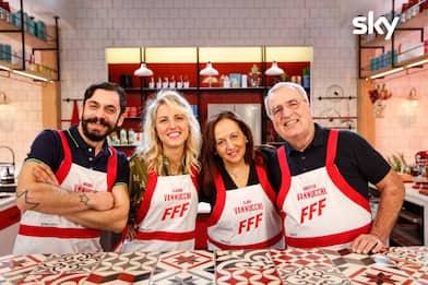 Family Food Fight 2, la famiglia Vannucchi di Quarrata